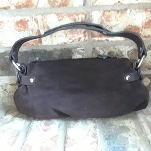 Juicy Couture Bags - Juicy Couture Small Brown Suede Purse